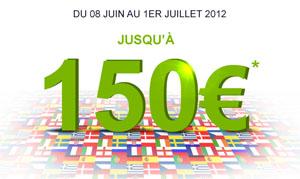 le bonus Parionsweb passe de 100 à 150 euros