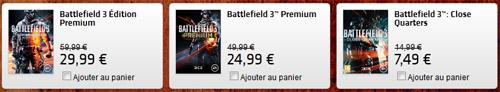 Promotion sur Battlefield 3